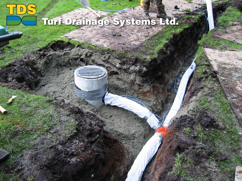 Turf Drainage Systems Ltd Collector Drains